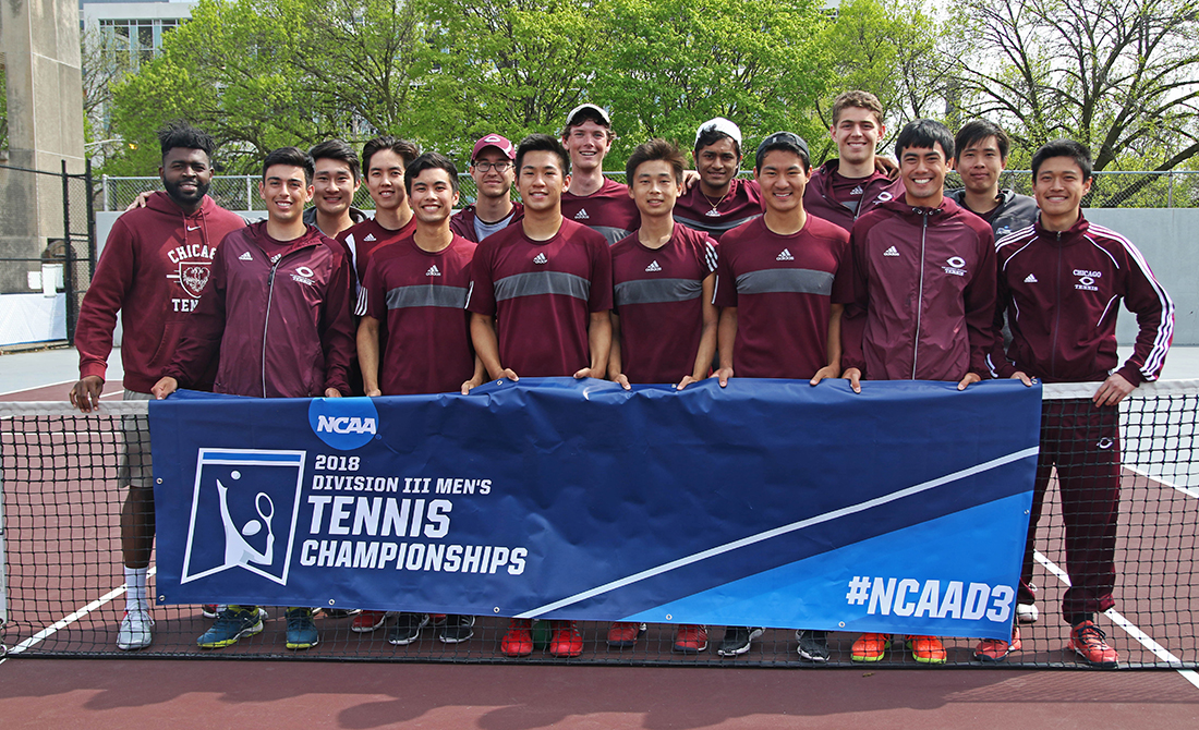 Maroon Men's Tennis Books Return Trip to NCAA Quarterfinals with 5-2 Triumph against Carnegie Mellon