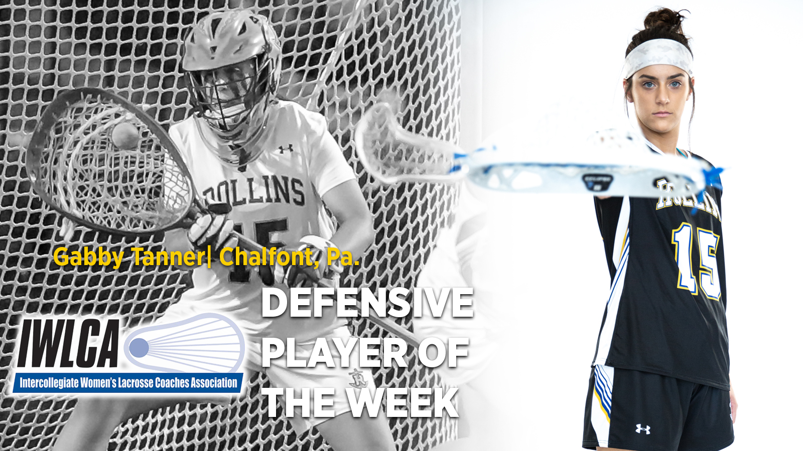 Tanner Named IWLCA Defensive Player of the Week