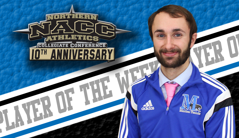 Schwoerer earns NACC weekly award