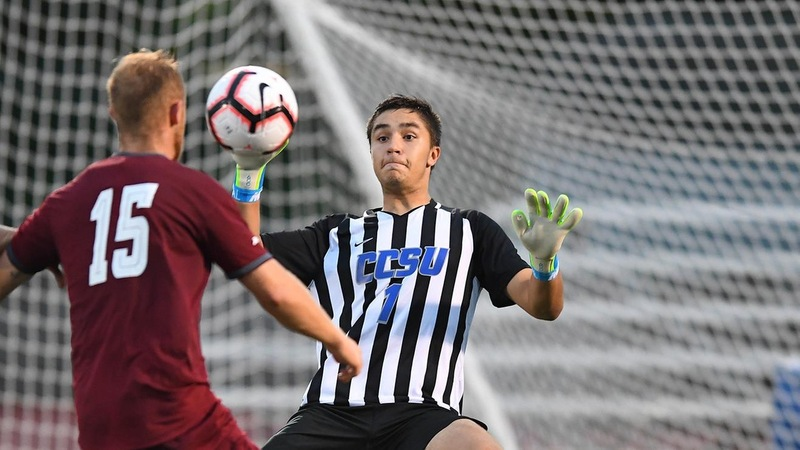 Men's Soccer Stopped at Bryant on Friday
