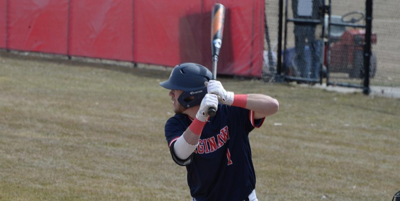 Baseball collects 15 hits in 14-8 regional victory at Hillsdale