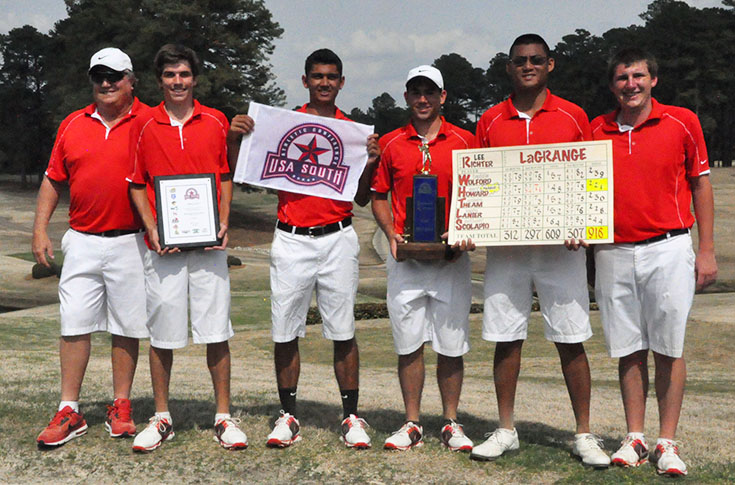 Golf: CHAMPIONS! Howard led Panthers capture USA South Tournament championship