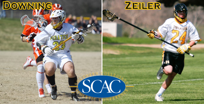 Zeiler, Downing nab SCAC Player of the Week honors after banner week