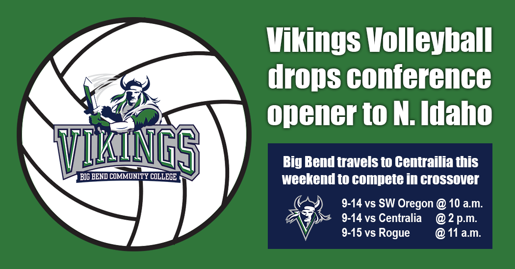Vikings drop conference opener against North Idaho, 3-0.