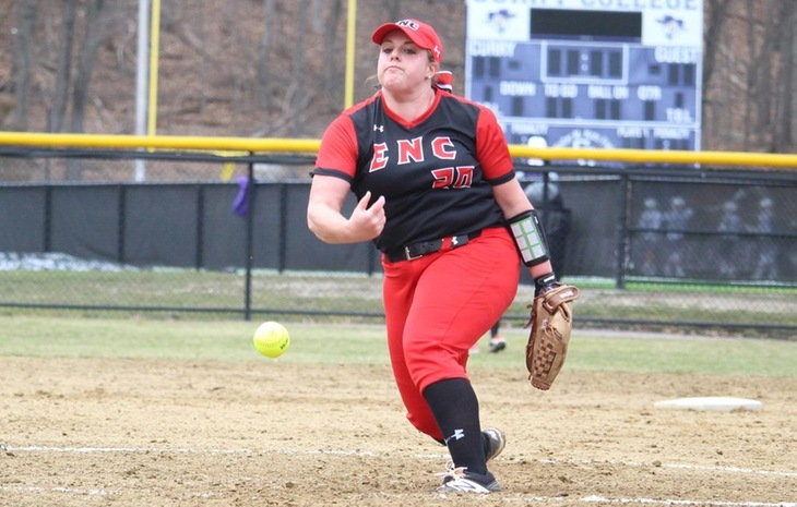 Second-Seeded Softball Still Standing in CCC Tournament with Two Wins Friday