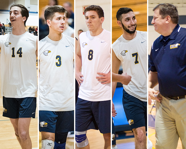 Men's Volleyball Dominates End-of-Season Skyline Awards