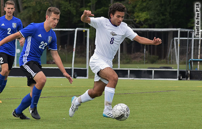 Rivas Scores with 28 Seconds Left in Overtime, Saint Michael's Downs Felician, 2-1