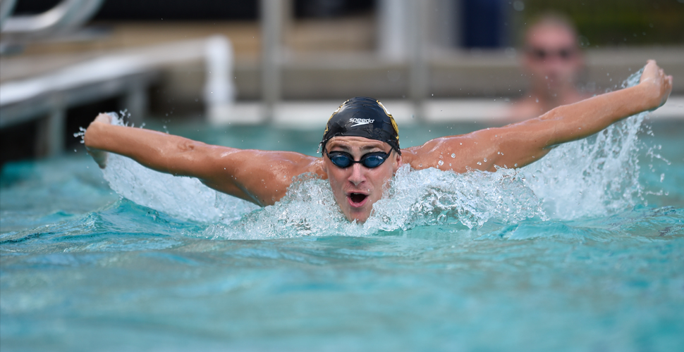 UMBC Swimming and Diving Completes Day One of ECAC Championships