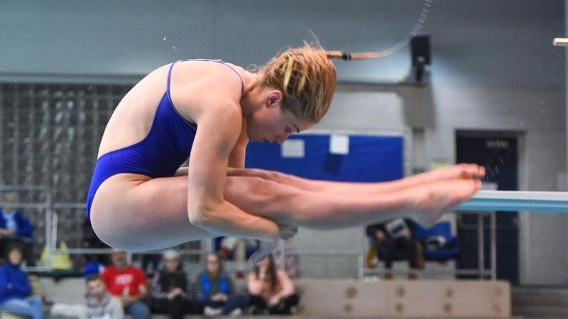 Durham Wins 1 Meter, Swimming and Diving in Third Place After Day Two