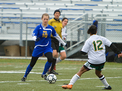 Lady Mariners rally to tie Johnson State