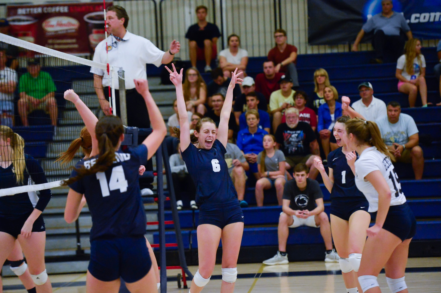 Volleyball Wins Twice in AMCC Action