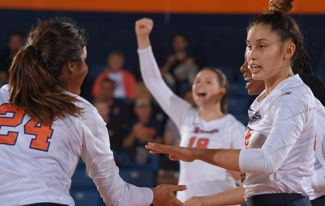 Titans Head to UC Irvine and UC Davis to Begin Three-Match Road Swing