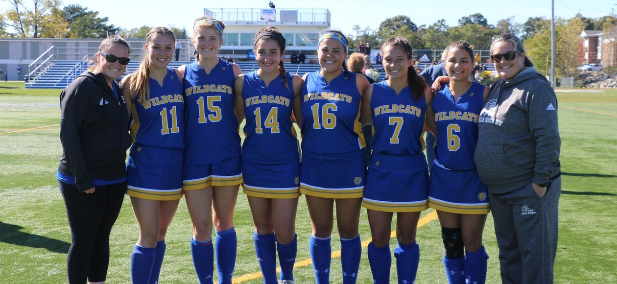 Field Hockey Trumps Rivier in Homecoming Day Victory