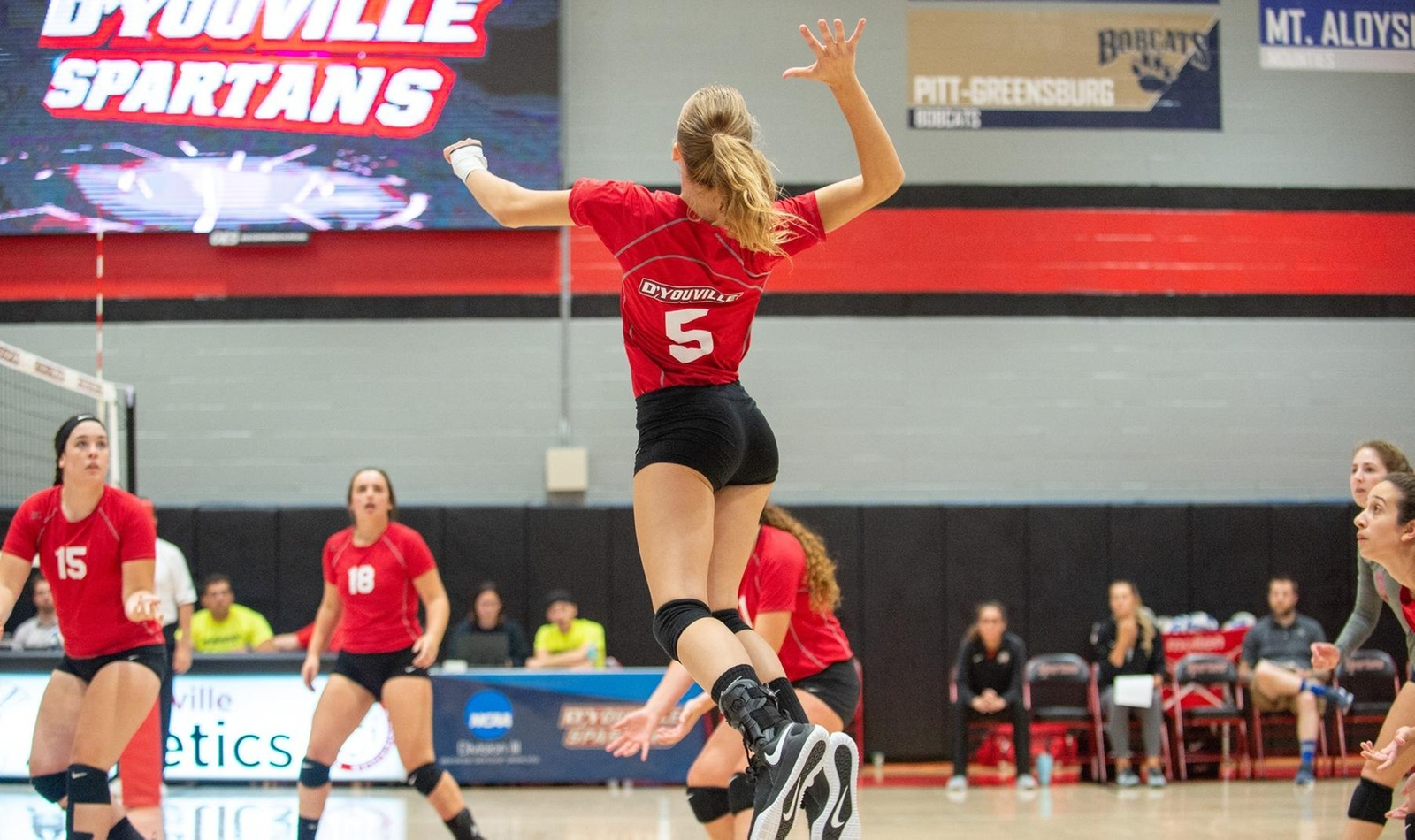 Women's Volleyball Battles Hard against Pitt.-Bradford