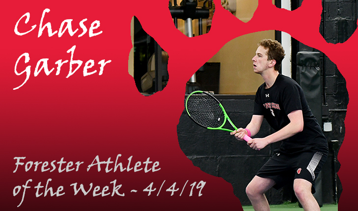 Chase Garber Named Forester Athlete of the Week