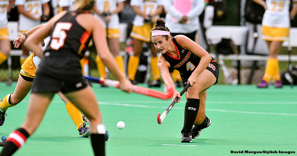 Field Hockey Held Off By Herons