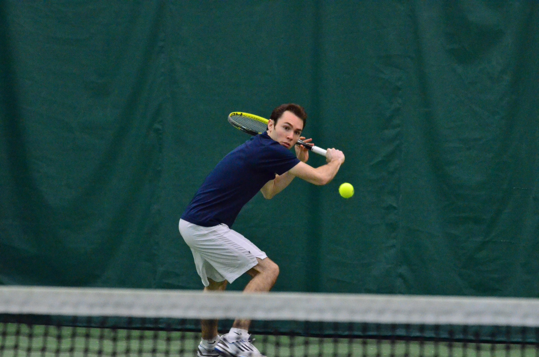 Drew Defeats Men's Tennis