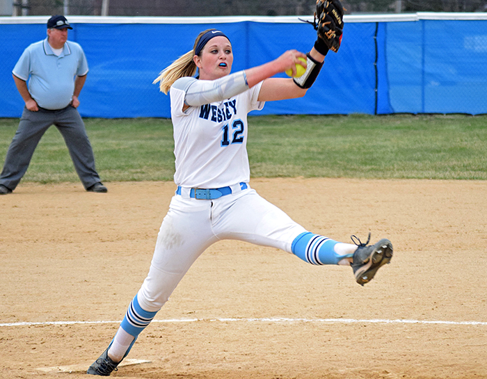 Siok pitches strong in doubleheader against Salisbury