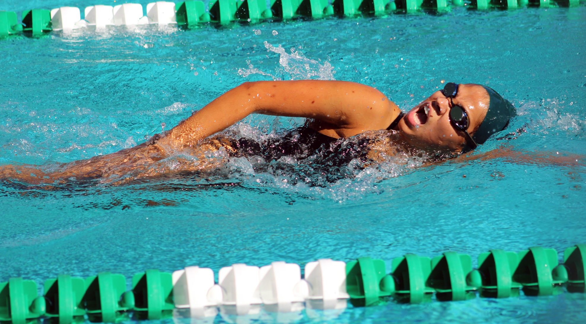 La Verne women beat Caltech, Pon wins two events