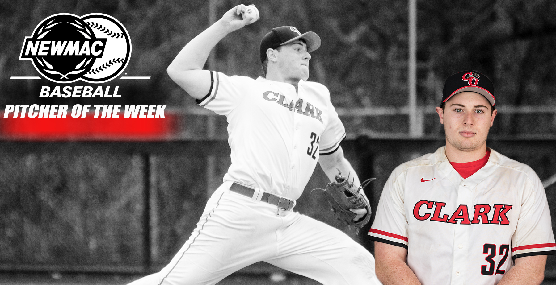 Slepkow Named NEWMAC Baseball Pitcher of the Week