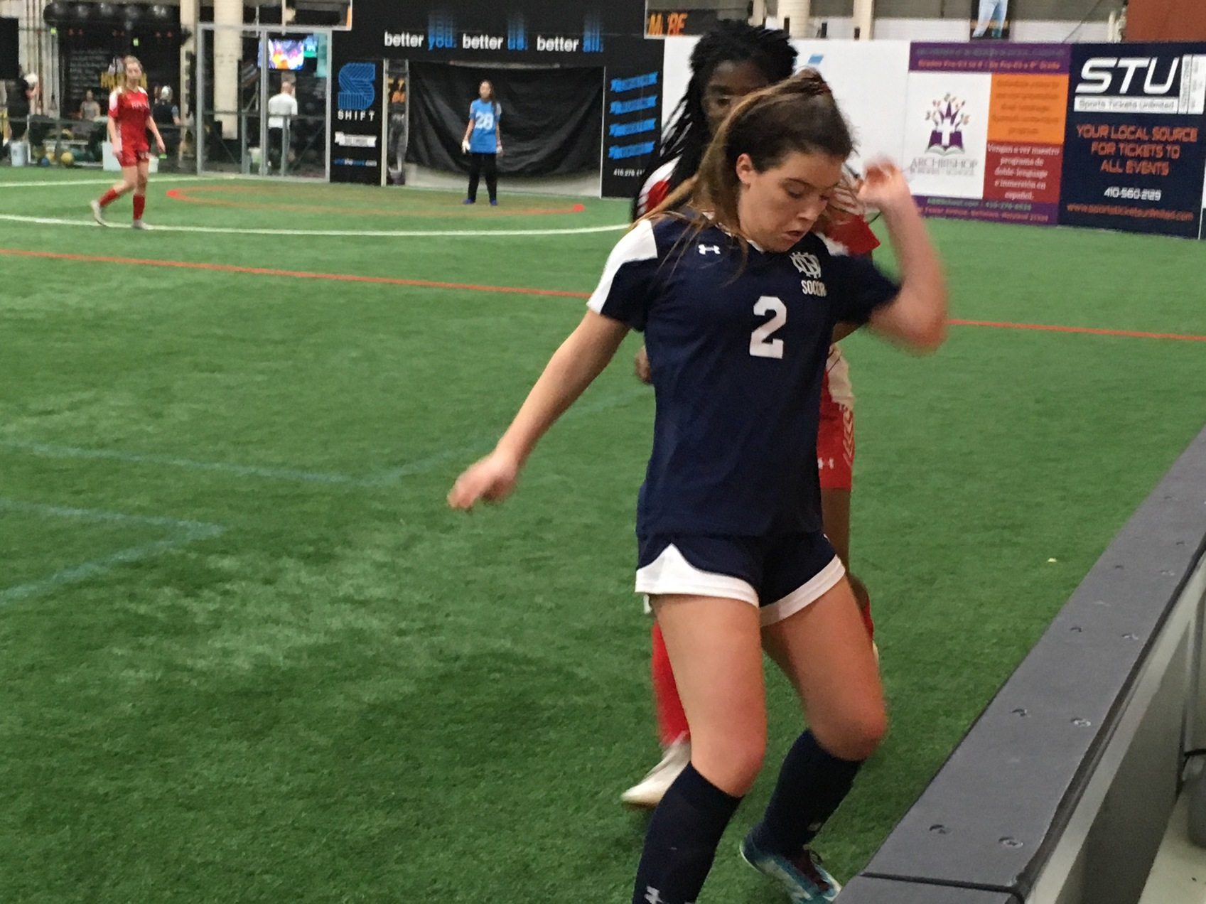 Roland Park, Mount Carmel advance to B Conference indoor soccer final