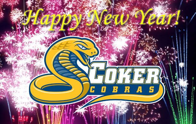 Happy New Year from the Coker Cobras