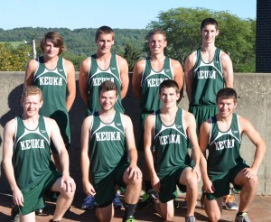 Men's Cross Country 12th at Oswego
