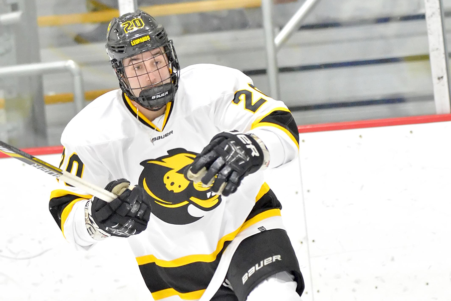 Hockey Battles Back to Tie Stonehill