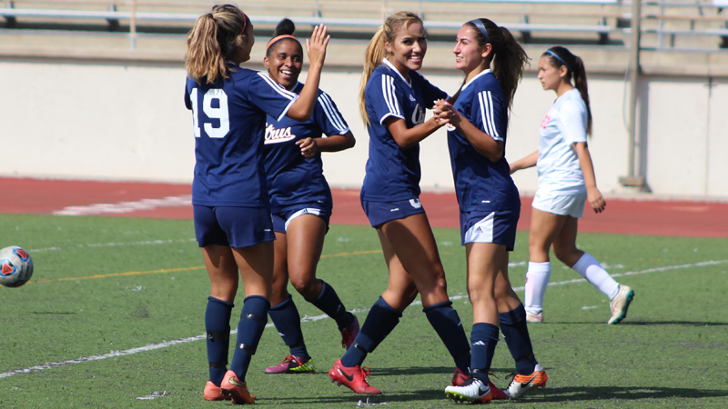 The Citrus College Women's Soccer team is in the playoffs for the second straight season and the fourth time in five years.