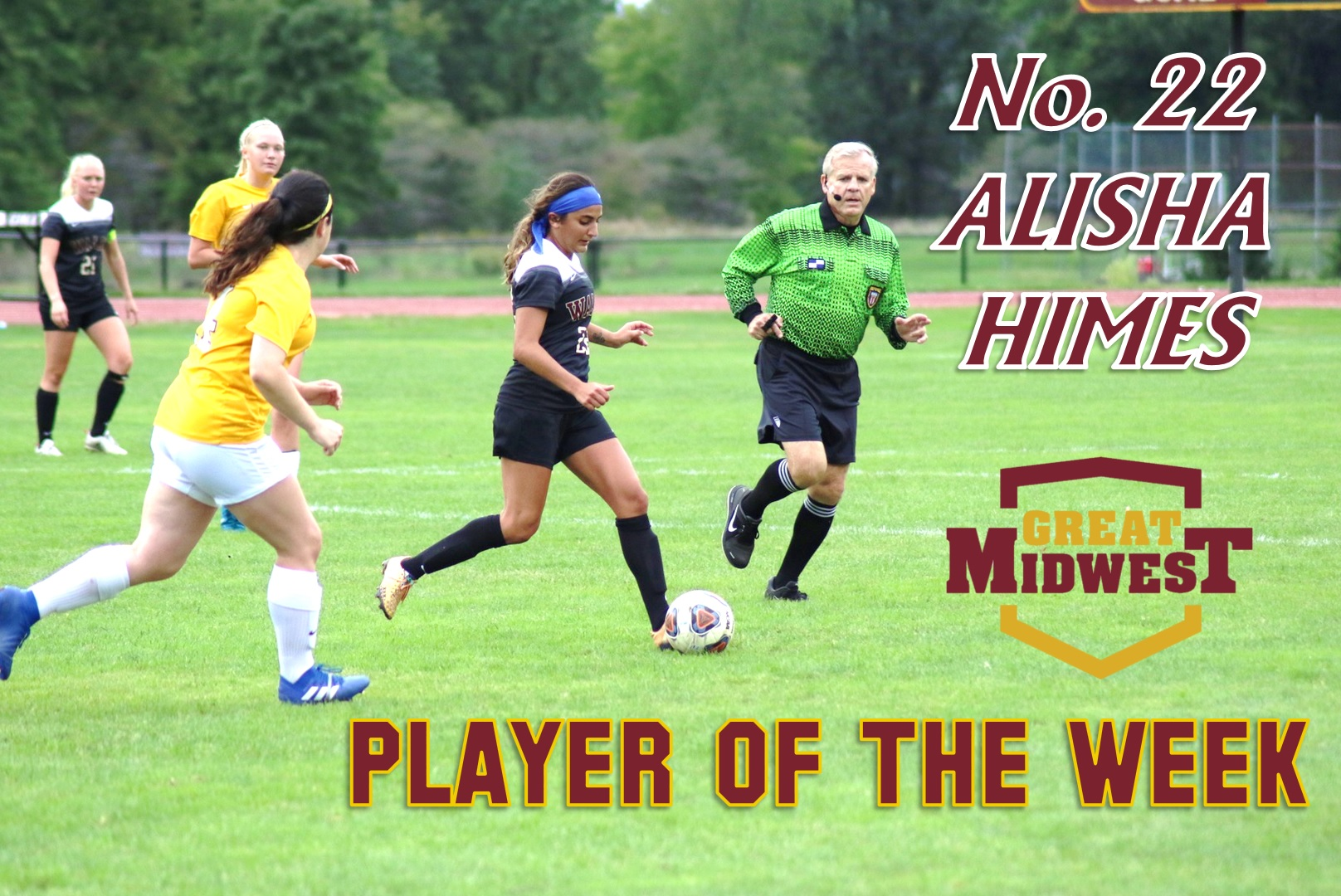 Himes Named G-MAC Defensive Player of the Week