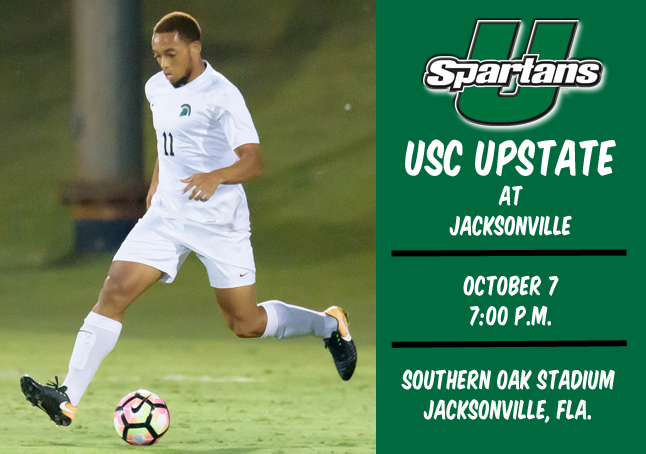 Upstate Begins Road Trip Saturday at Jacksonville