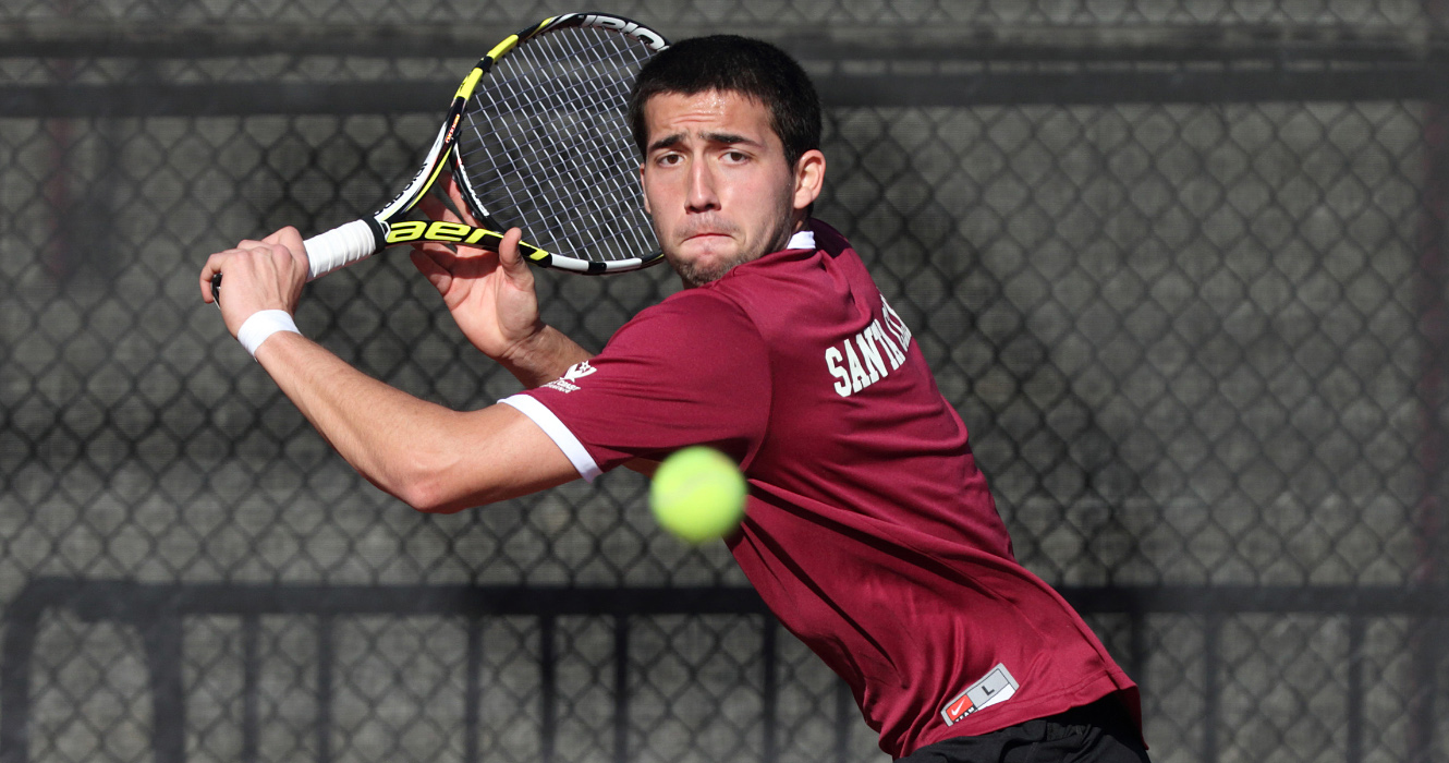 No. 42 Men's Tennis Controls Gonzaga 7-0 for Seventh Straight Win
