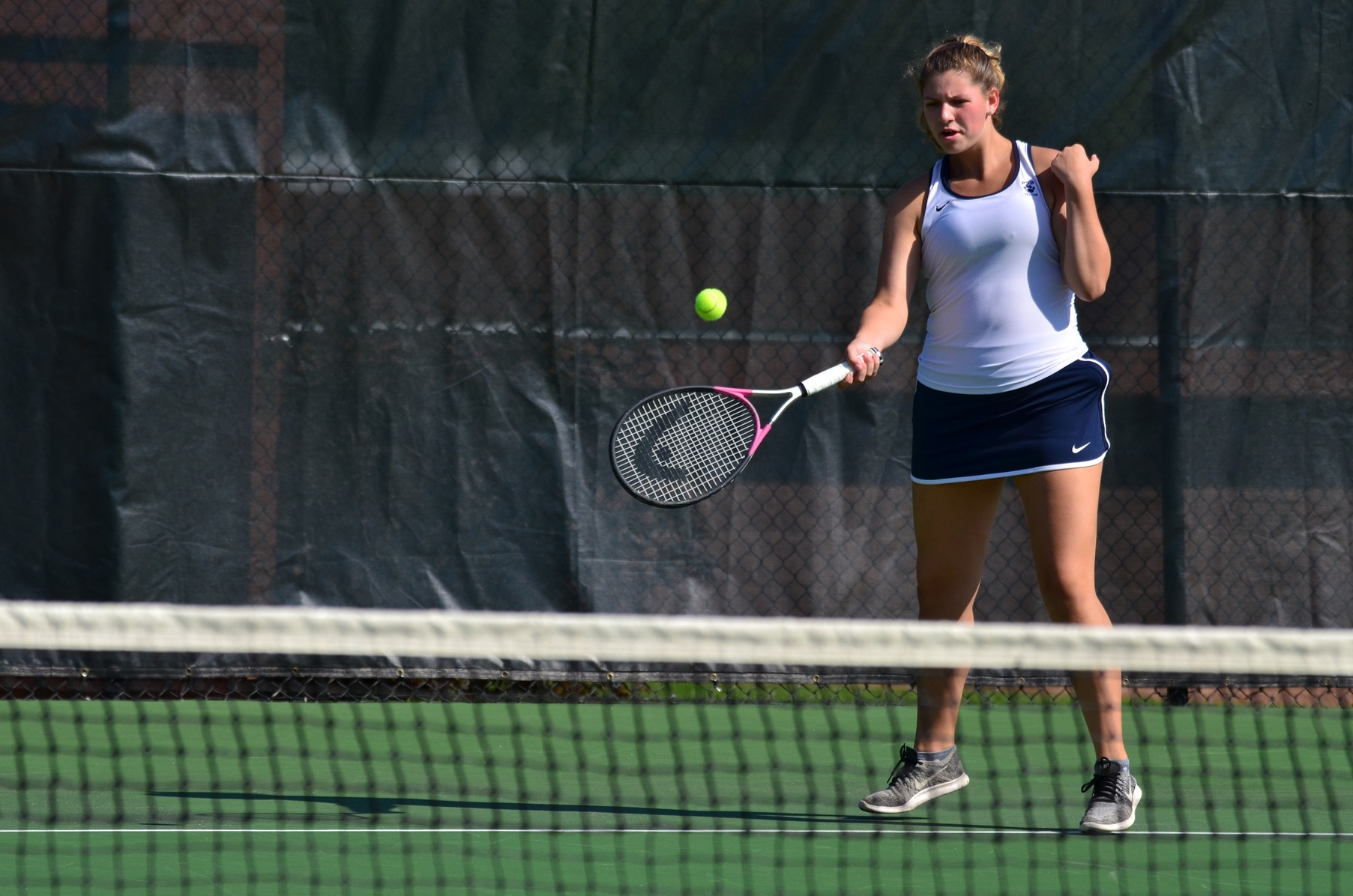 Franciscan Defeats Women's Tennis