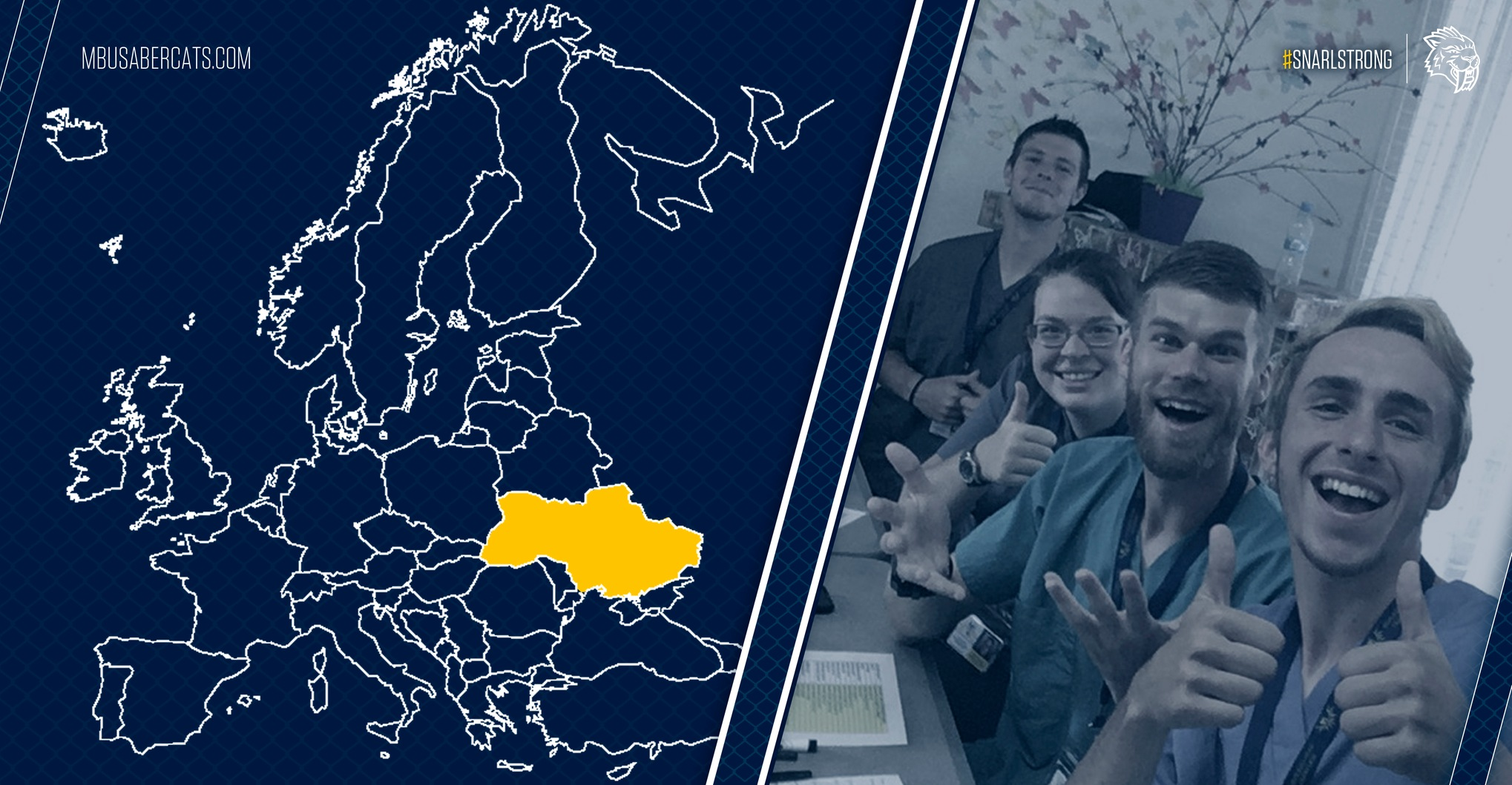 DeAngelo, Nelson Gain Fresh Perspective with Ukraine Mission Trip