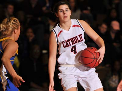 CUA moves onto ECAC title game after downing Alvernia 64-52