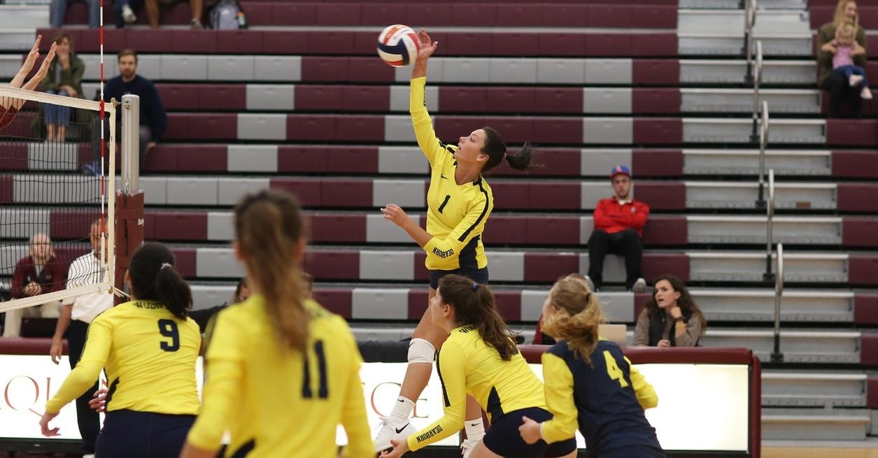 Aquinas sweeps UM-Dearborn in Grand Rapids