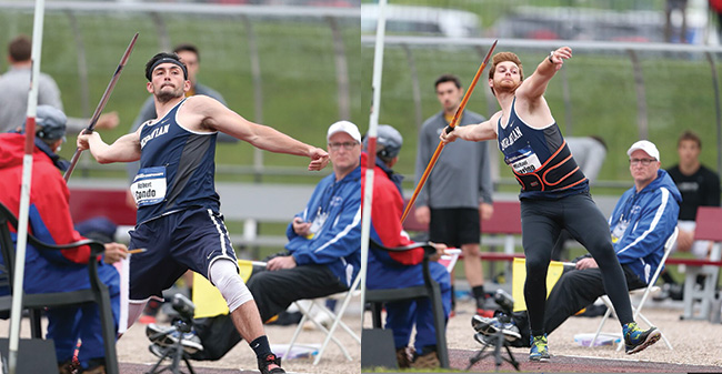 Condo & Guarino Compete in Javelin at 2017 NCAA DIII National Championships