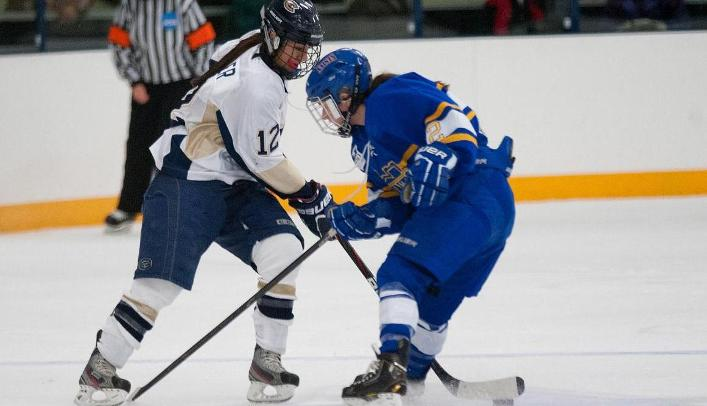Women's Hockey Falls at UW-River Falls