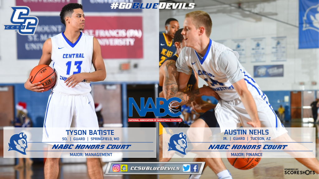 Men's Basketball Duo Earn NABC Academic Recognition