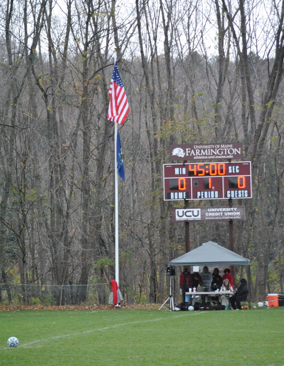 New flag poles for prescott field university of maine at game day at prescott field and the us and maine flags are flying proudly from one of the new flag poles donated by the snack shack and the stone hearth sciox Image collections