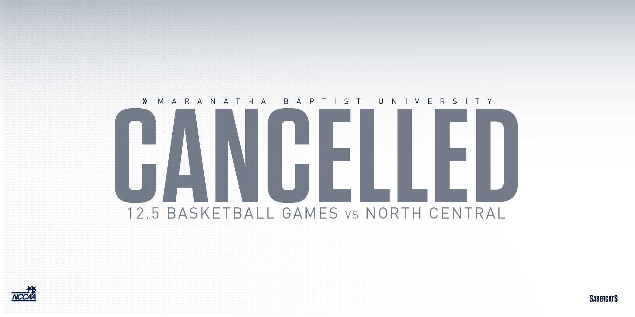 Basketball Games Cancelled