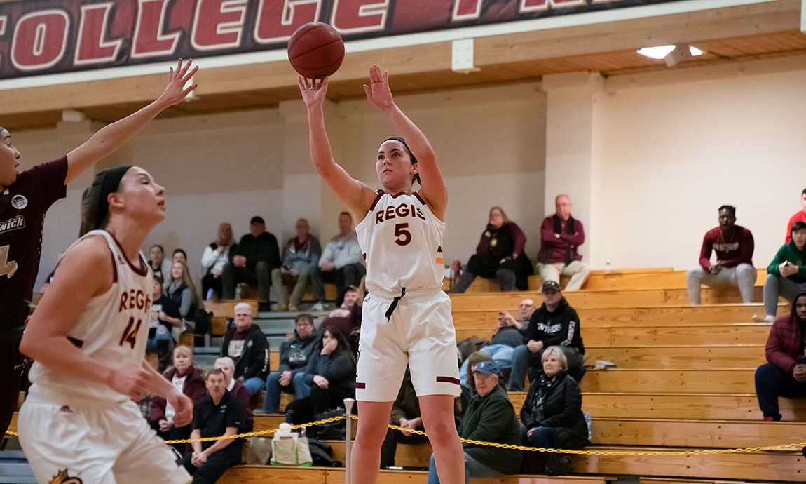 Regis Women's Hoop Closes Home Schedule With Victory