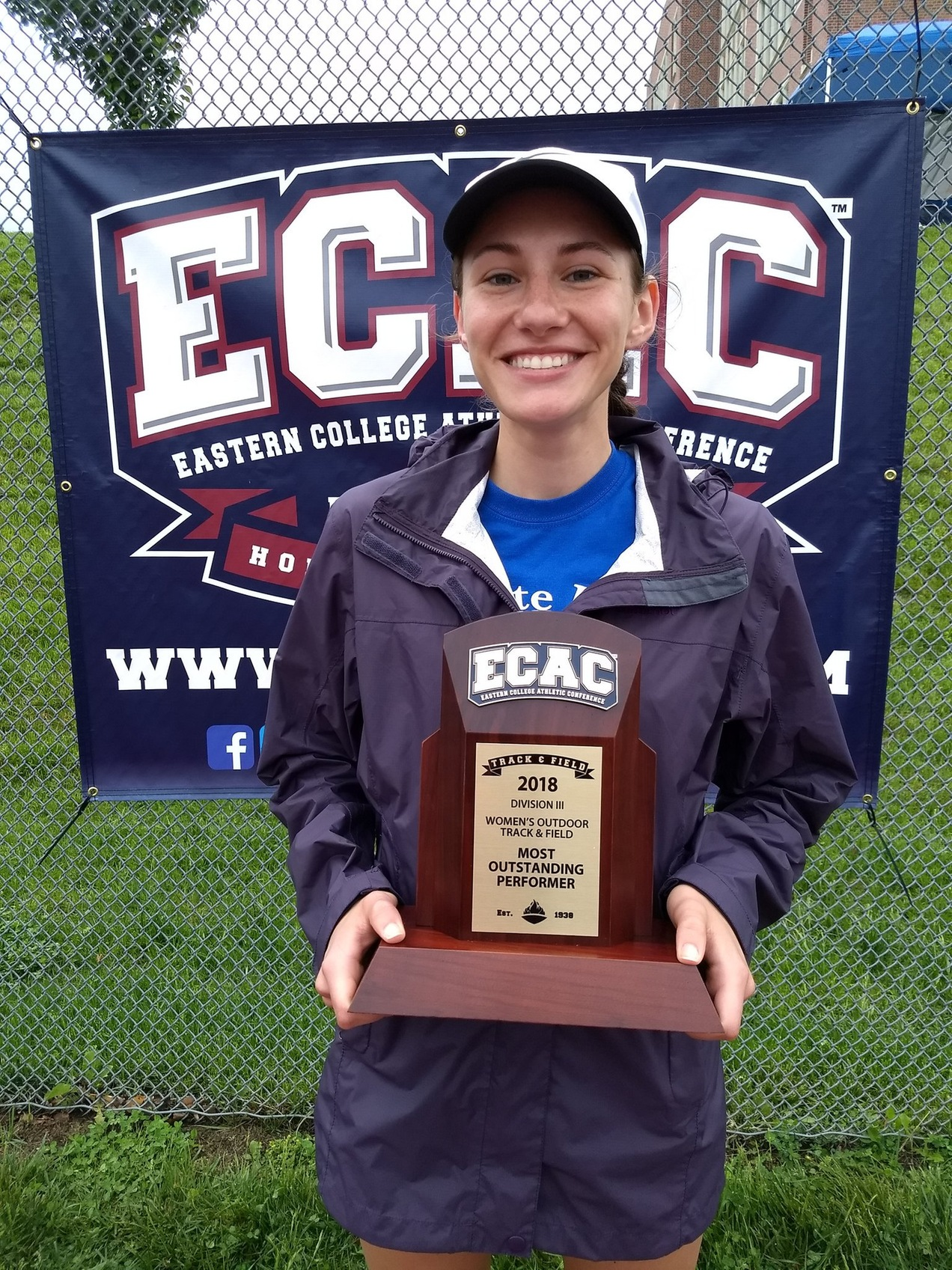 Lions Place Fourth at ECAC Championships; Pell Named Most Outstanding Performer
