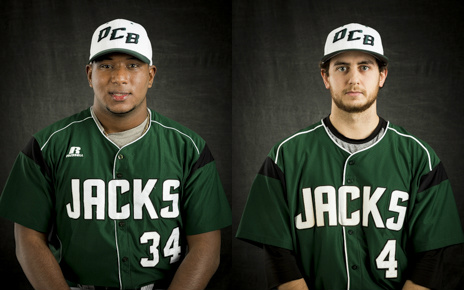 Victor Terrero (left) and Nick Sumstine named All Mon-Dak