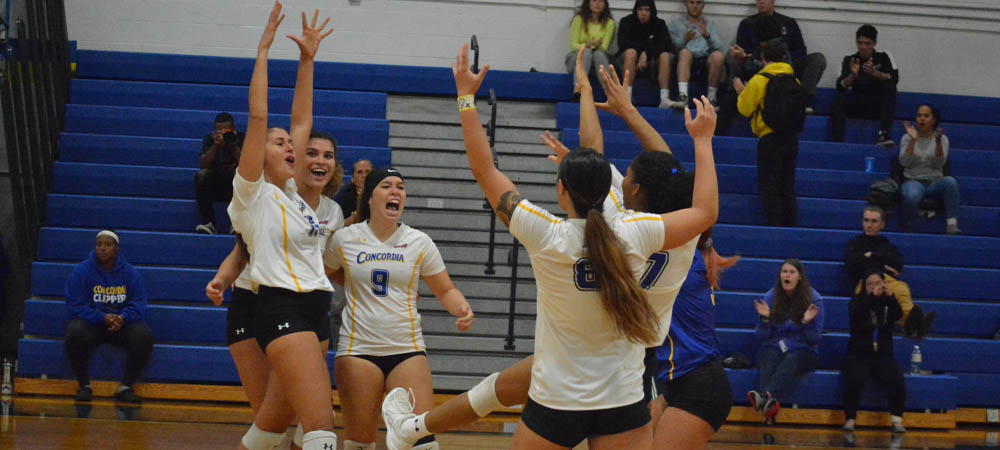 Volleyball Records Second-Most Kills In Program History In 3-2 Comeback-Victory Victory Over Bloomfield