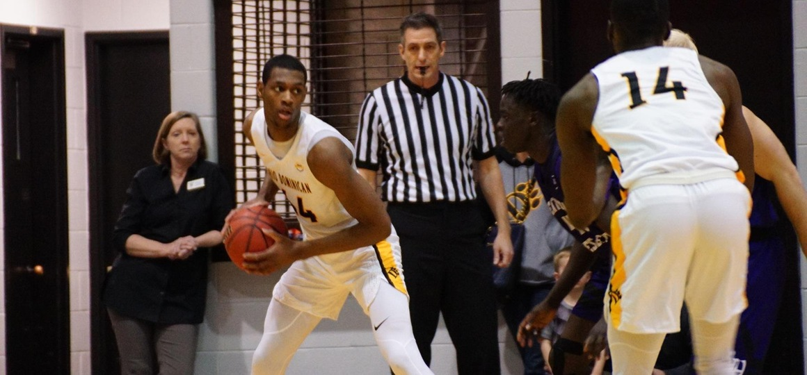 Men's Basketball Leads Wire-to-Wire in Win at Alderson Broaddus