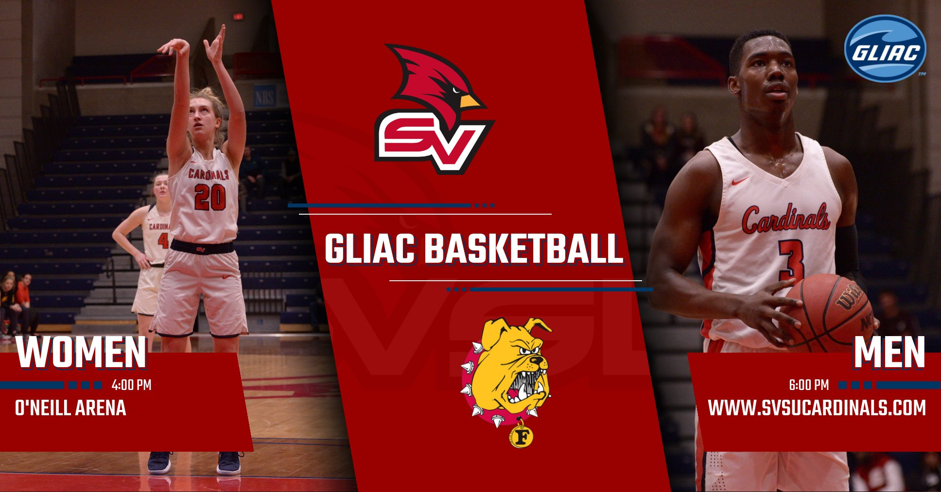 SCHEDULE UPDATE - Basketball Teams to host Ferris State on Sunday