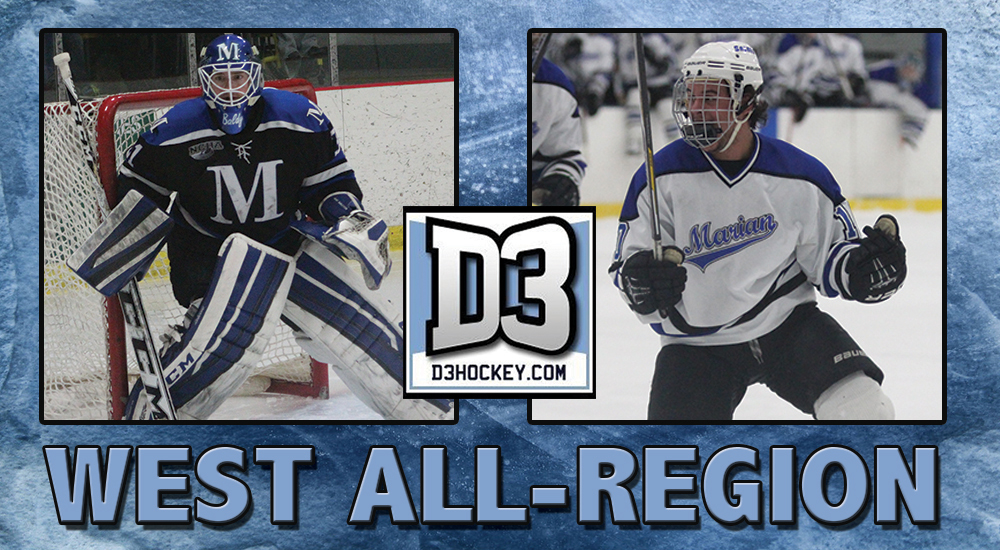 Pair of Sabres named D3Hockey.com Third Team All-Region