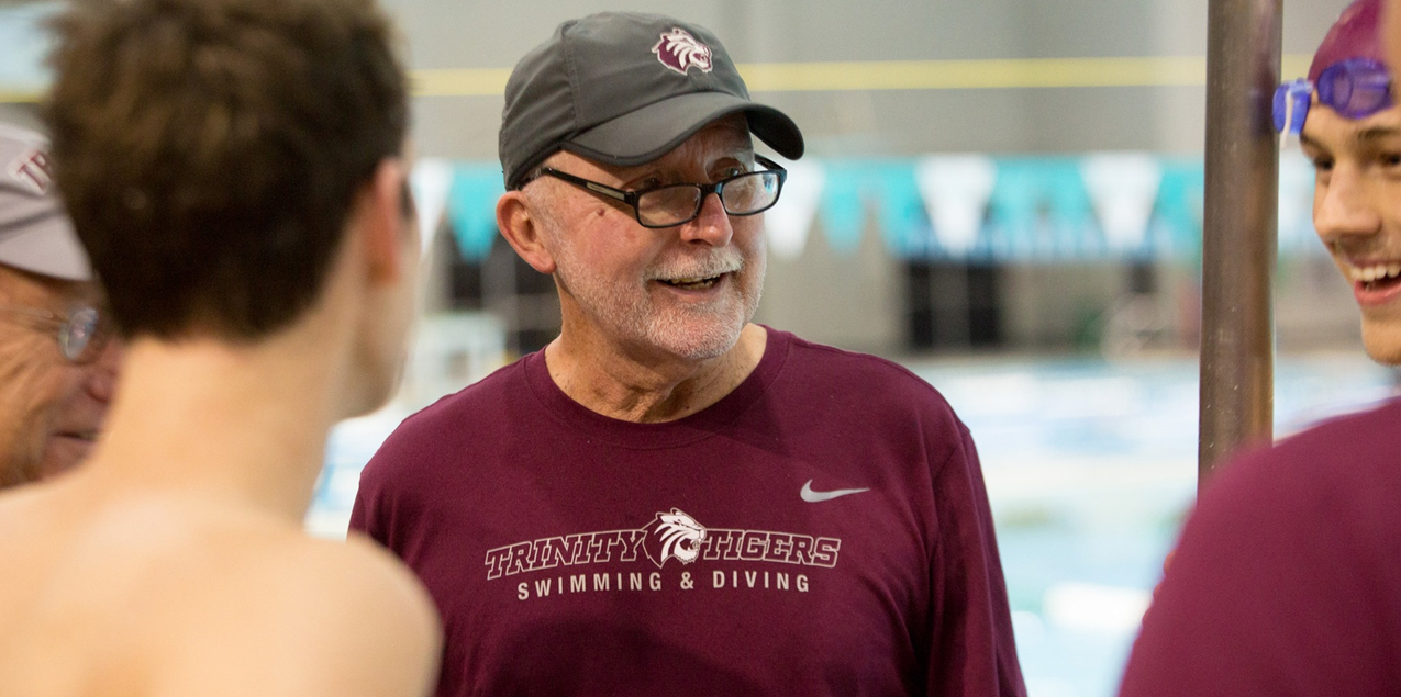 Trinity Head Swimming and Diving Coach John Ryan Announces Retirement