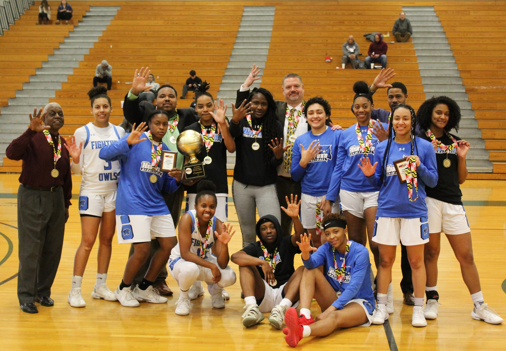 MDJUCO Women's Basketball Tournament: Fighting Owls Soar Past Panthers for 5th Straight Title